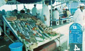 Prodej ryb v Lukavici
