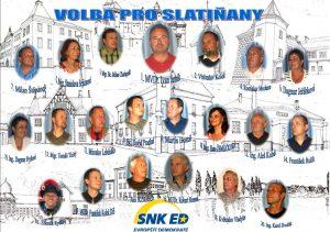 Téma: SNK Evropští demokraté Slatiňany
