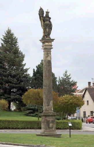Sloup sv. Václava v Chrudimi
