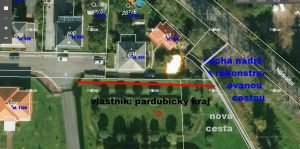 Návrh: Vytvořit průchod z Klášterní ulice k Nádrži u nádraží