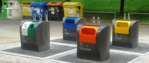 Návrh: Použít podzemní kontejnery na tříděný odpad