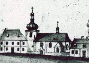 Téma: Bývalý hřbitov u kostela