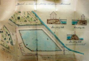 Plán na stavbu a provoz plovárny od Jana Schmoranze