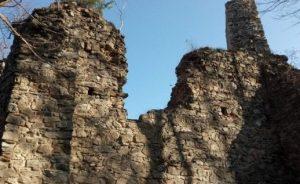 Rabštejn - západní stěna po opravě