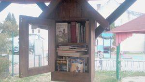 Téma: Knihobudka na dětském hřišti