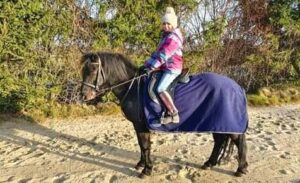 Jezdecký klub Pablo nabízí svezení dětí na ponících