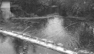 Povodí obnovilo vaničku pod jezem