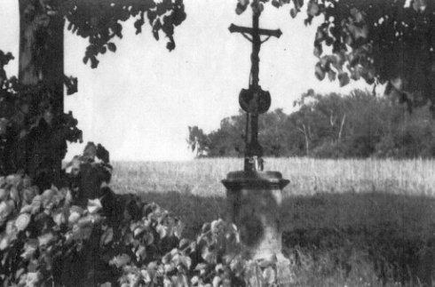 Původní svídnická boží muka od J. Sýkory a F. Bureše