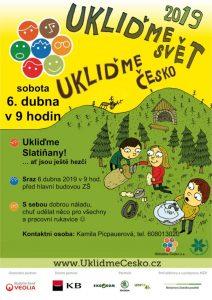 so 6.4.2019 Ukliďme Česko – Ukliďme Slatiňany