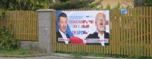 Extrémisté vystrkují růžky i ve Slatiňanech a falešné letáky SPD