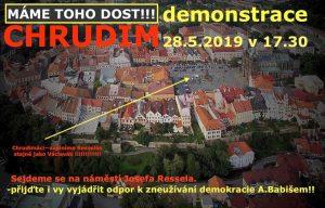 Chrudim: 4. demonstrace – za nezávislost justice