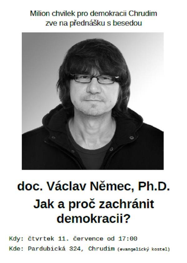Václav Němec - pozvánka