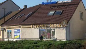 Téma: Elektro Pešek – maloobchod a velkoobchod elektroniky, servis, montáže
