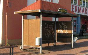 Téma: Autobusová zastávka Slatiňany,odb.Presy