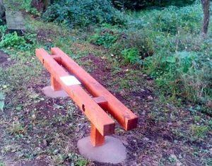 Město instalovalo první čtyři lavičky do Olšiny