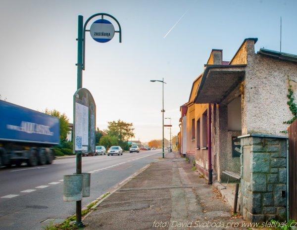 autobusová zastávka Sokolovo