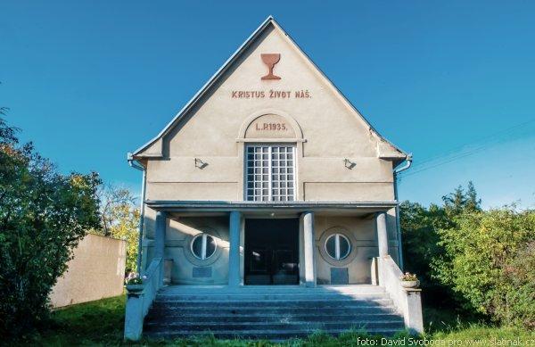 Evangelický kostel ve Slatiňanech
