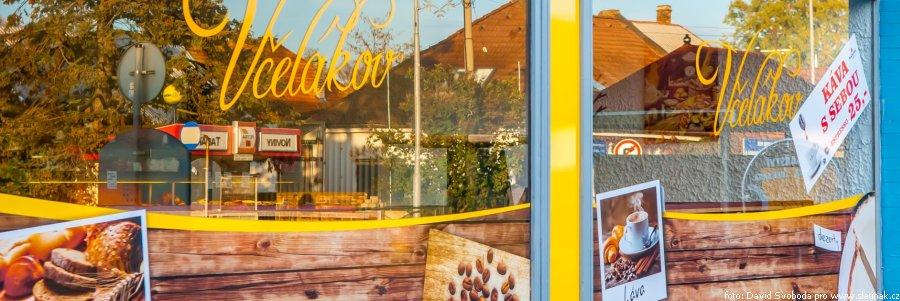 prodejna pekařství Včelákov Slatiňany