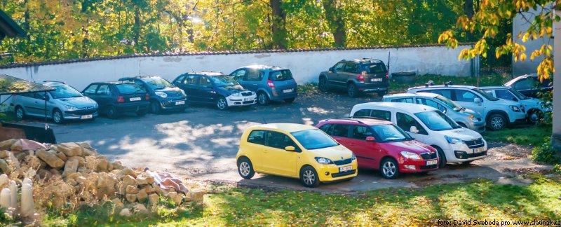 parkoviště u Modely - Slatiňany
