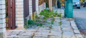 Téma: Opravy chodníků