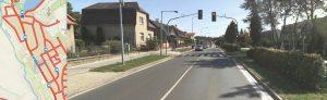 Návrh: Přechod u Bonetu doplnit semaforem na měření rychlosti
