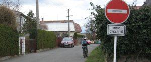 Téma: Slatiňany dostupné pro cyklisty