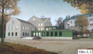 Návrh: Přestavba Modely na kulturní centrum
