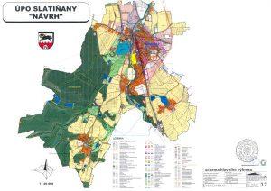 Téma: Územní plán Slatiňany