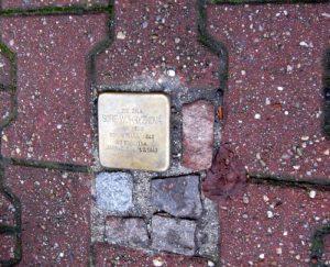 stolperstein - kámen zmizelých - Sofie Wohryzková