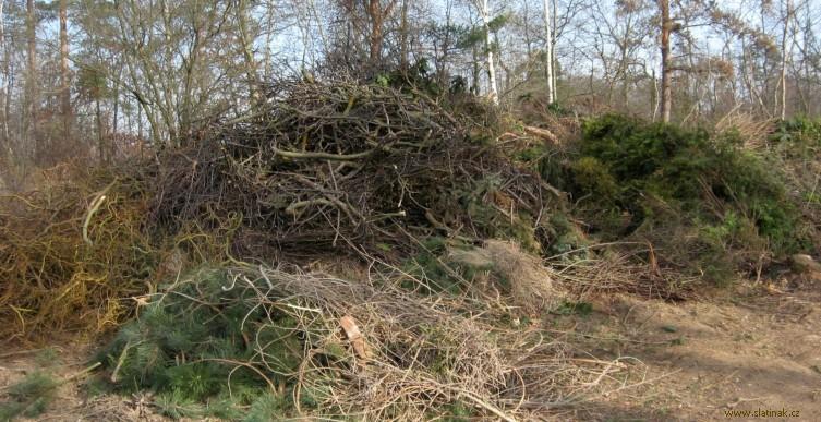 Kompostárna Škrovád - větve