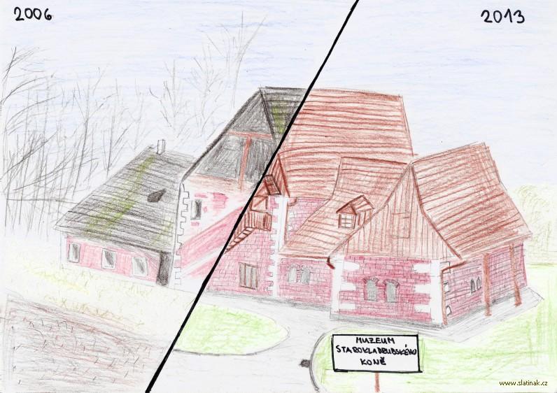 Švýcárna 2006 - 2013 - kresba