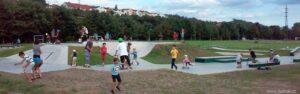 Skatepark u Tesca je opět otevřen