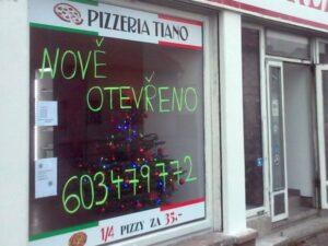 Téma: Pizzeria Tiano na Středu