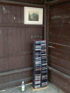 CD-budka ve Škrovádě