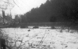 Při oblevě po tuhé zimě vystoupila řeka až o 2 metry