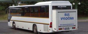 Bus Vysočina končí v linkové dopravě