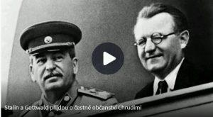 ČT: Stalin a Gottwald přišli o čestné občanství Chrudimi