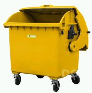 Návrh: Aspoň jeden pravidelně vybíraný kontejner na velké pytle s plastem