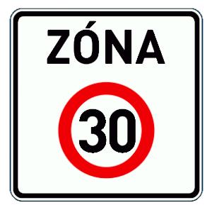 Téma: Plošné zklidnění dopravy – zóna 30